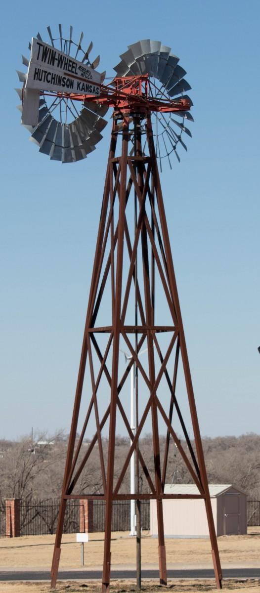 Twin Wheel Windmill