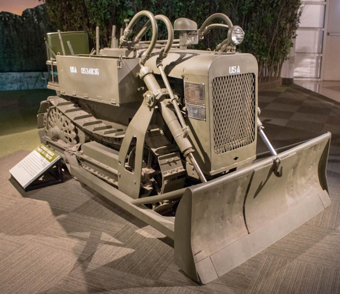 WW II Clarkair Crawler Model CA-1 Tractor
