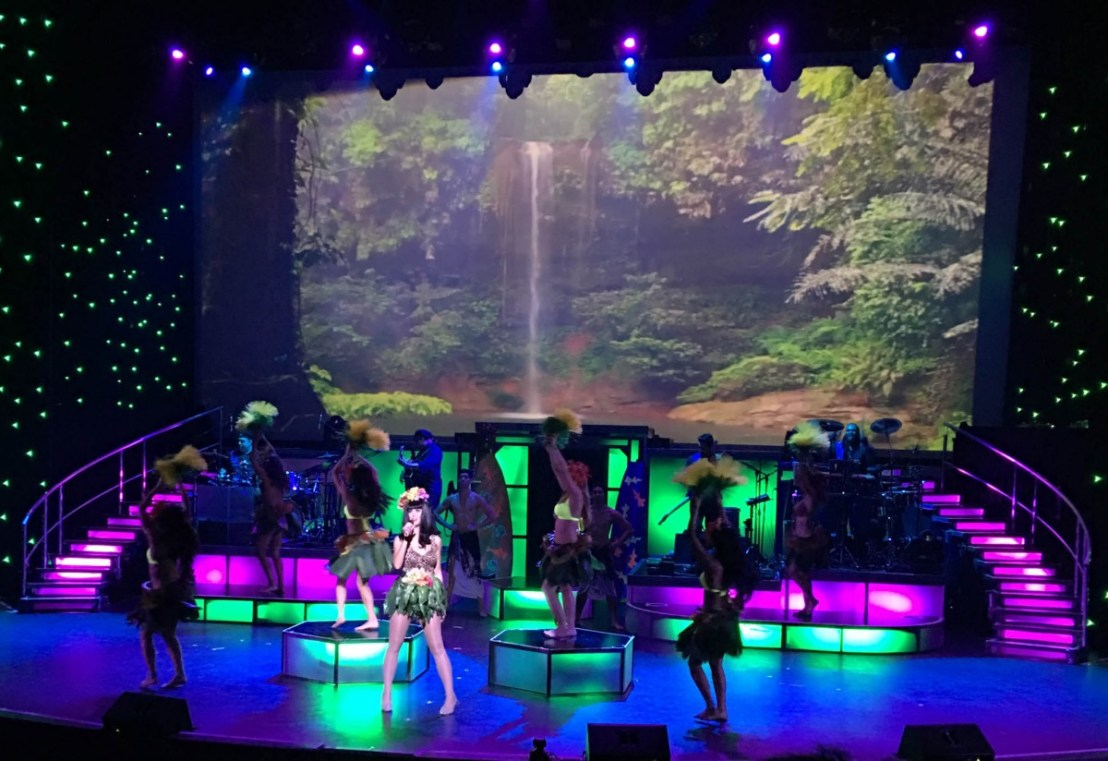 Katy Perry Impersonator - Rock a Hula Show at the Royal Hawaiian Center Theater