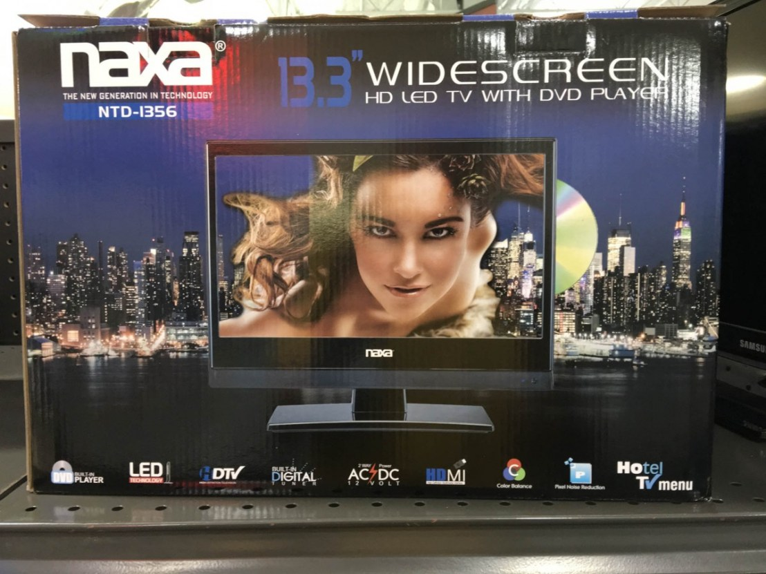 naxa NTD-1356 TV/DVD Player