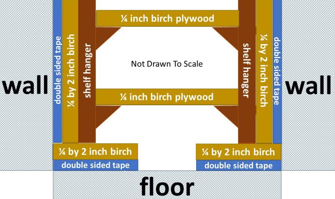 Basic Shelving Plan