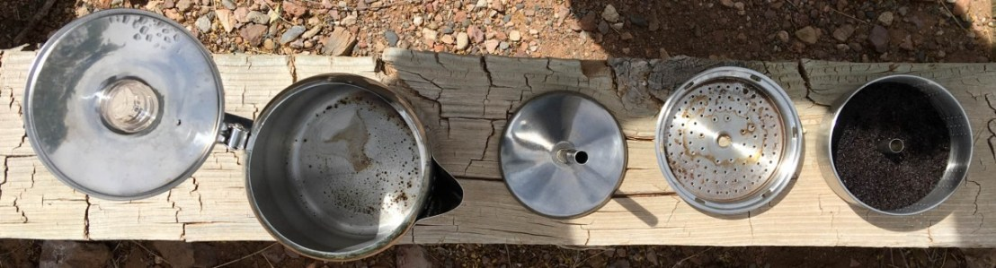Cleaning Stove Top Coffee Percolator