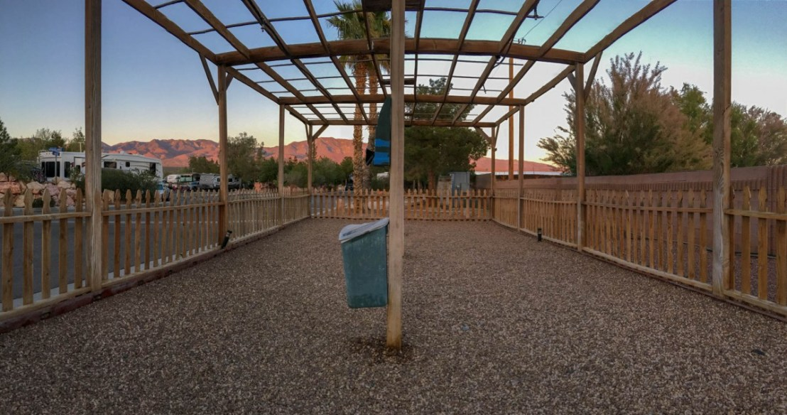 Nevada Treasure RV Resort - Dog Run
