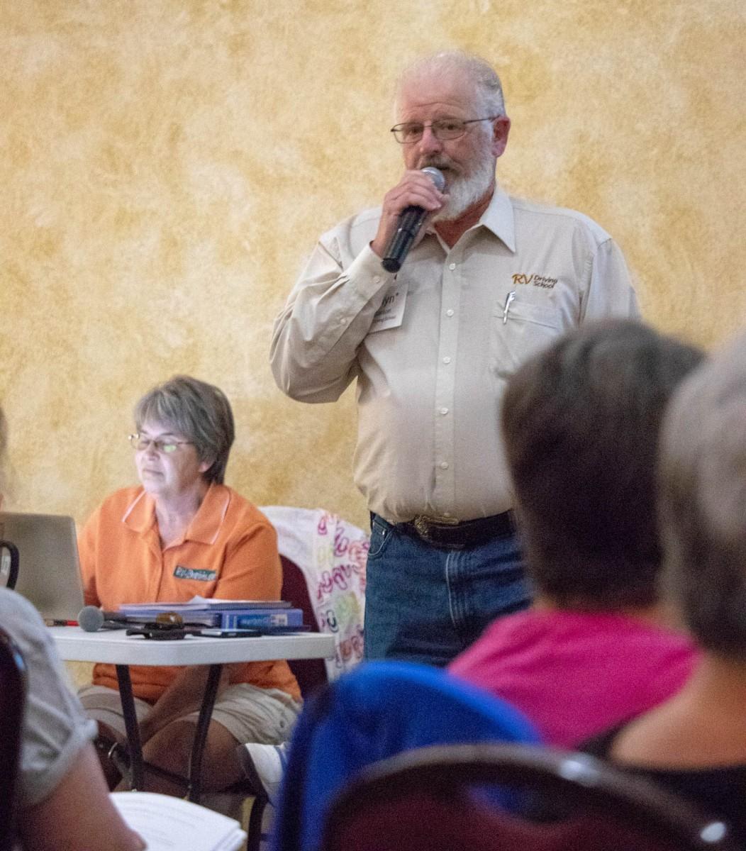 Glyn Carson, RV Driving School Instructor