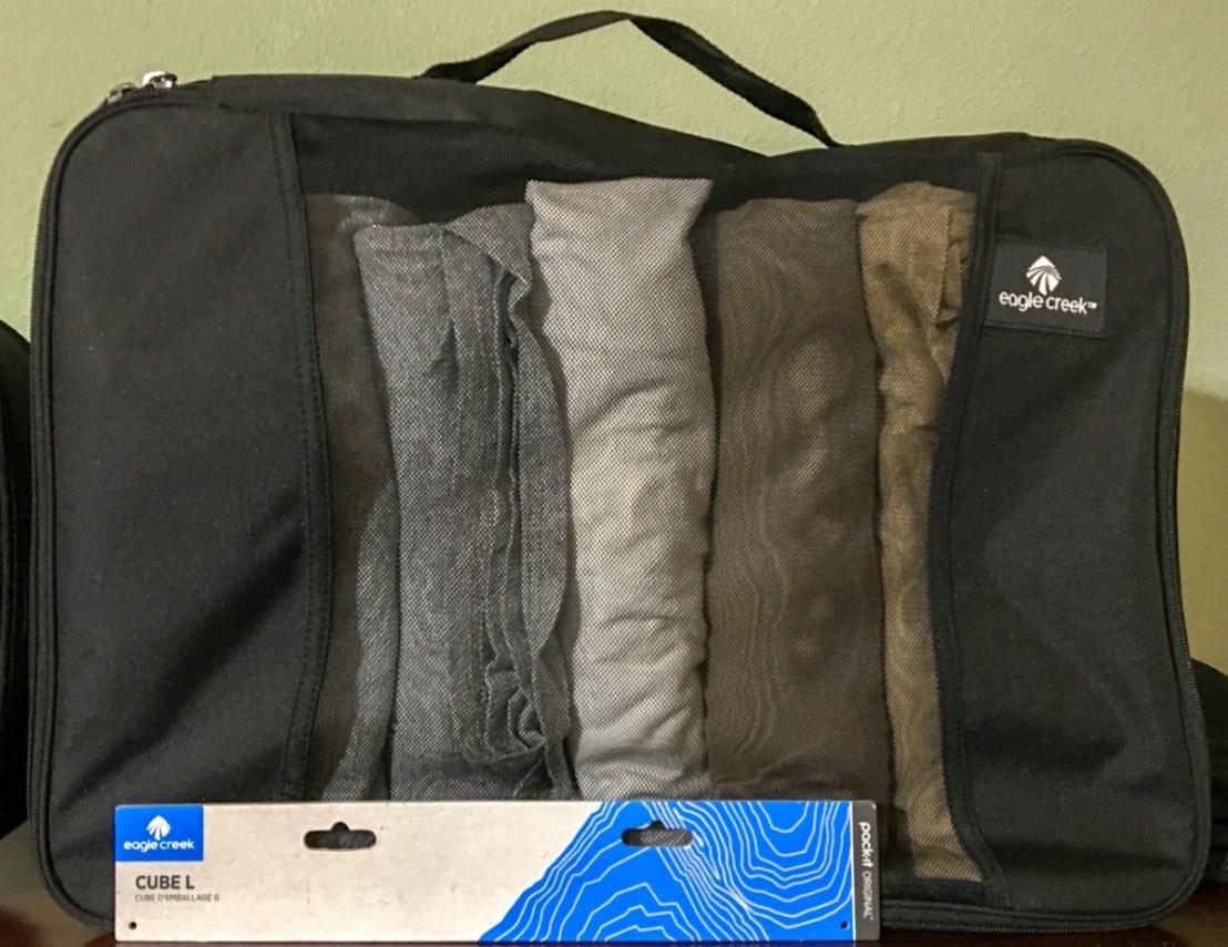 Eagle Creek Pack It Double Cube , Black, Large