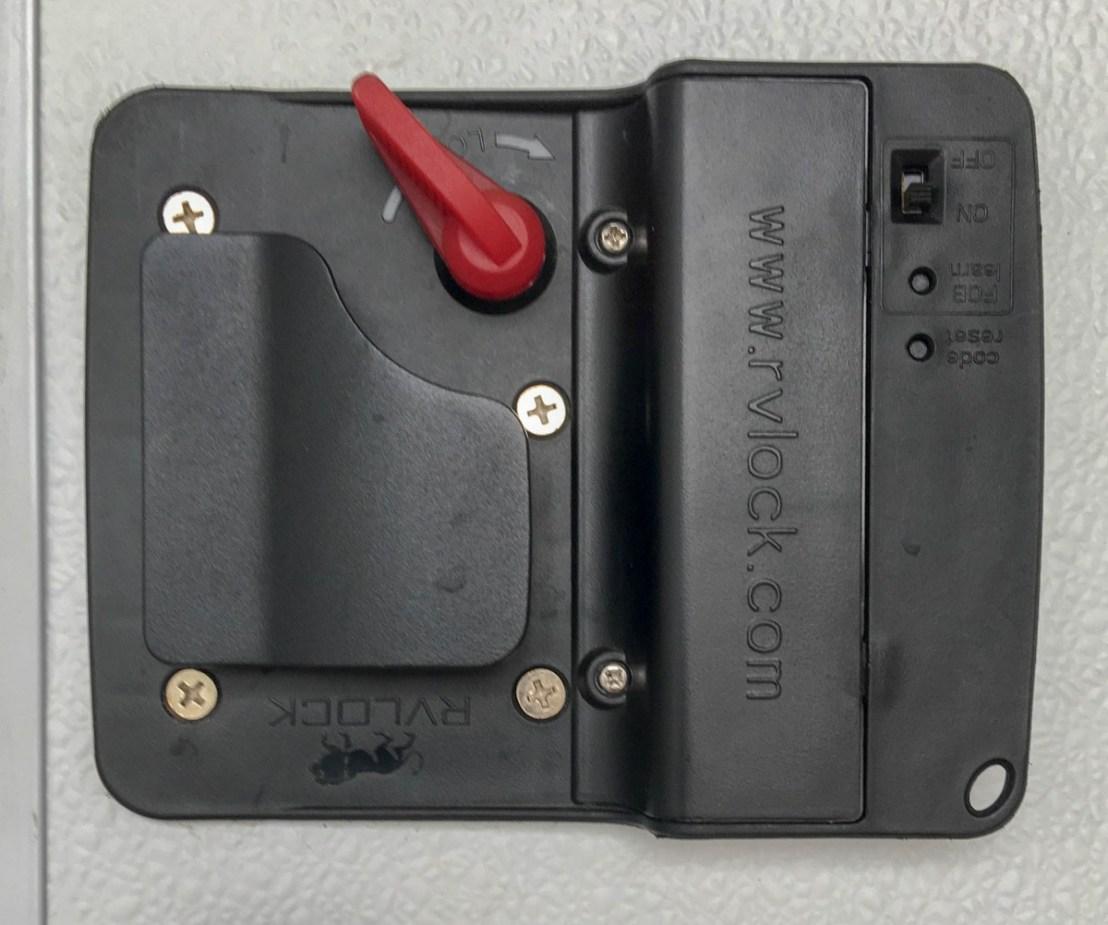 RVLock V4.0 With Integrated Keypad