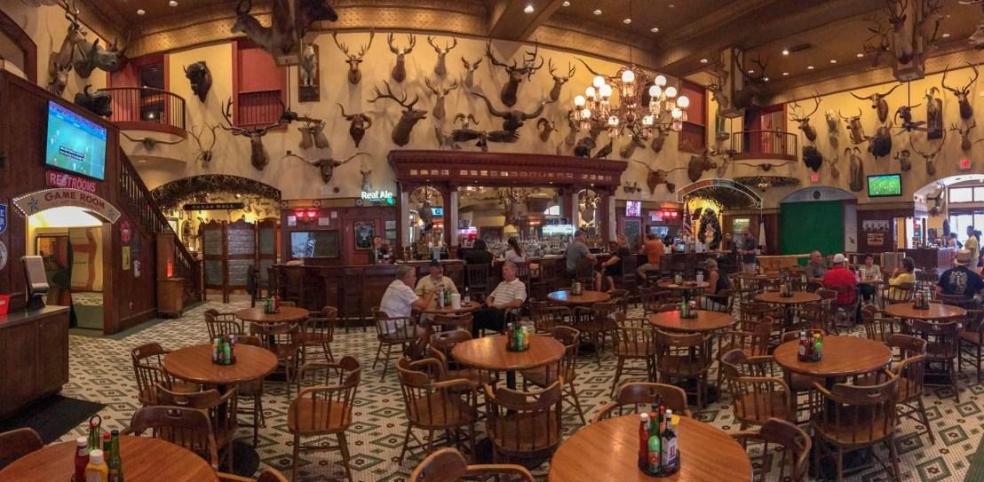 The Buckhorn Saloon & Museum in San Antonio, Texas