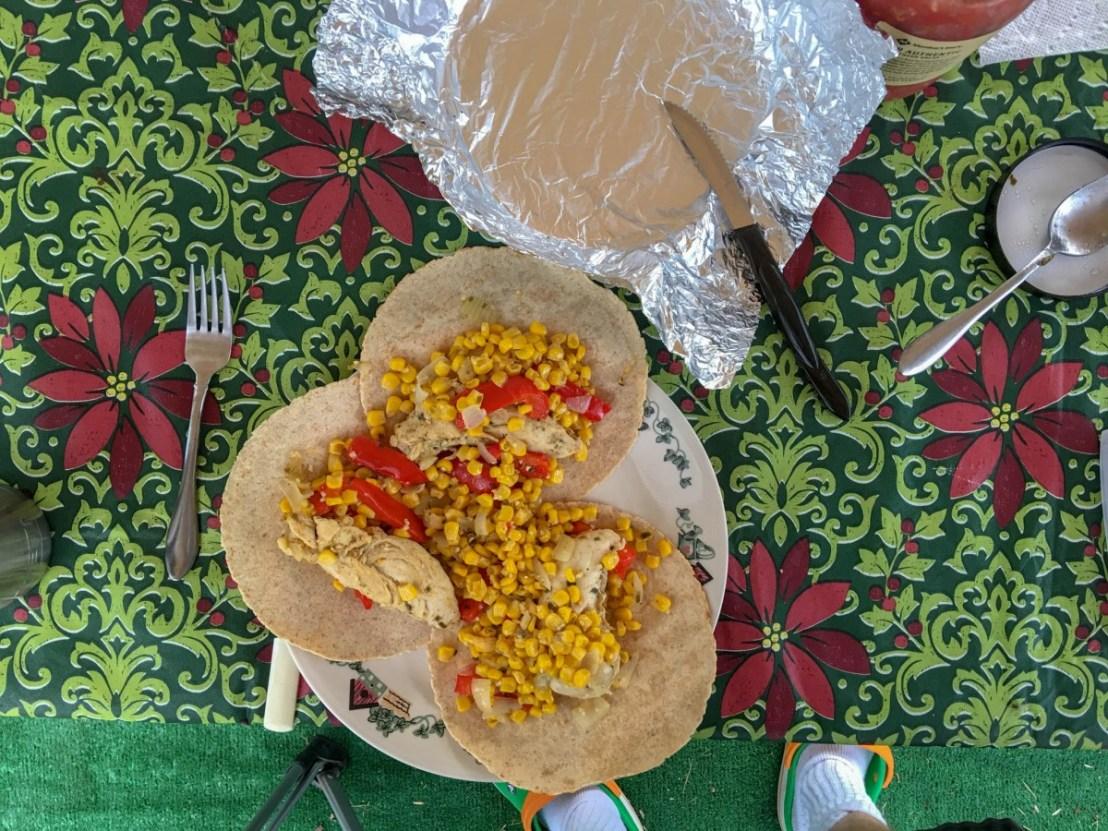 Chicken Fajita Meal