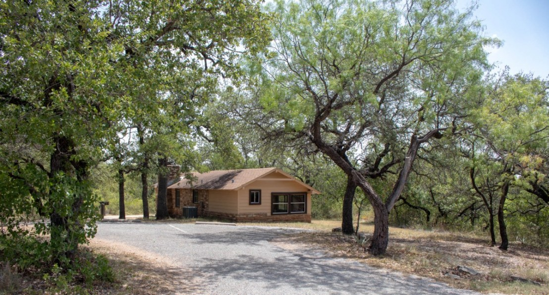 Civilian Conservation Corps (CCC) Built Cabin at Lake Brownwood State Park