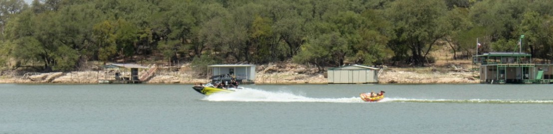 Recreational Boating on Lake Brownwood