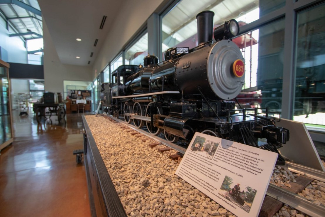 Large Working Model Steam Engine at Lehnis Railroad Museum