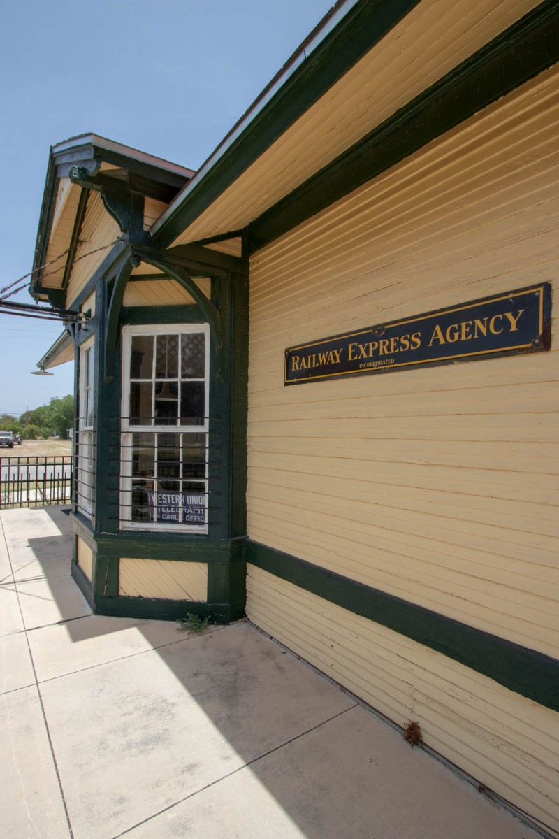 The Kress Depot at The Lehnis Railroad Museum
