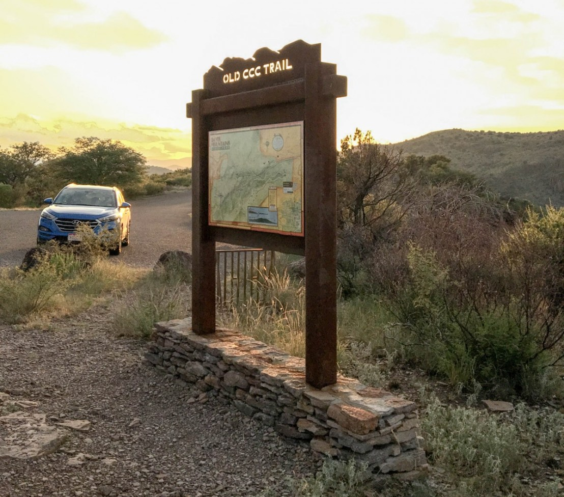 Old Civilian Conservation Corps (CCC) Trail - Trail Head