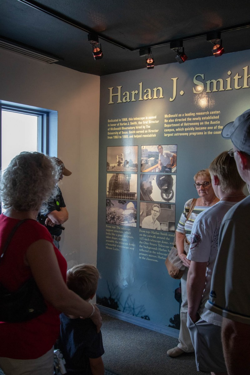 Lower Harlan J Smith Telescope Lobby