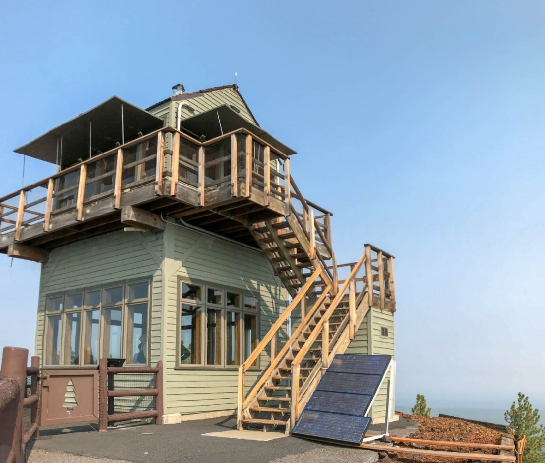 Active Forest Fire Lookout Station