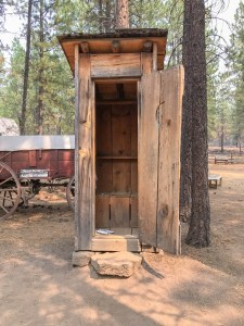 Ranch Outhouse
