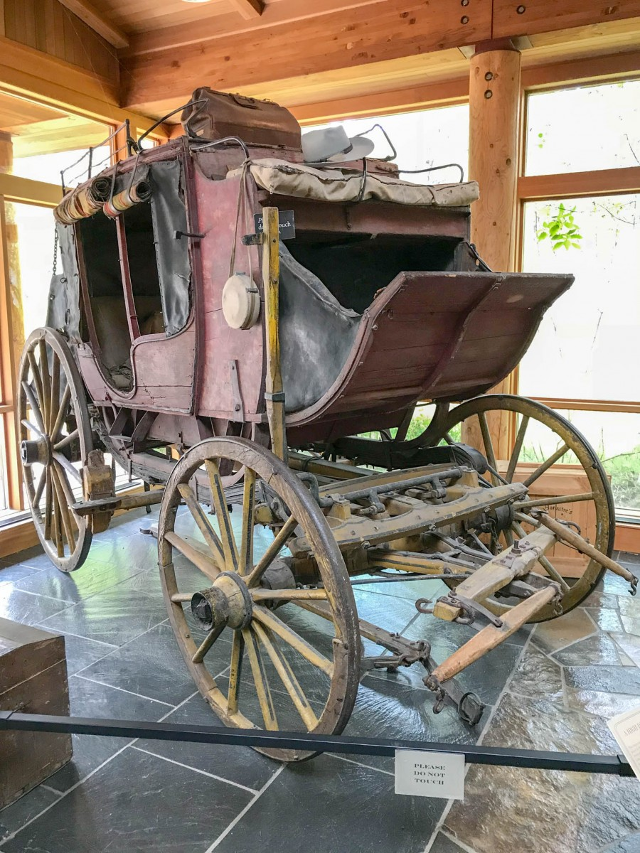 19th Century Stage Coach