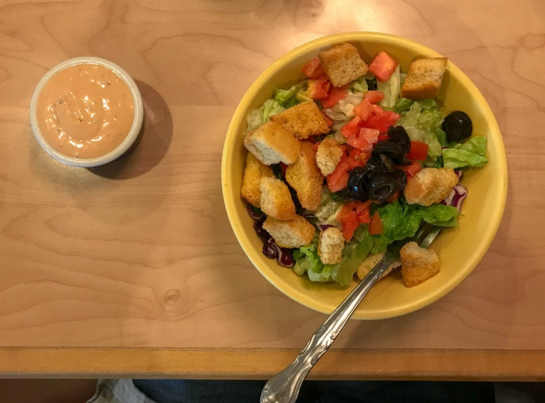 Elmer's Yellow Bowl Salad