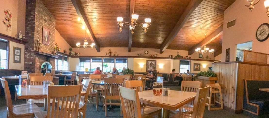 Elmer's Dining Room in the Morning