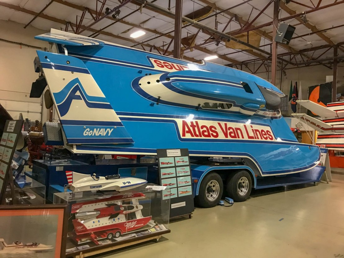 Muncey Drove Atlas Van Lines In The Seventies