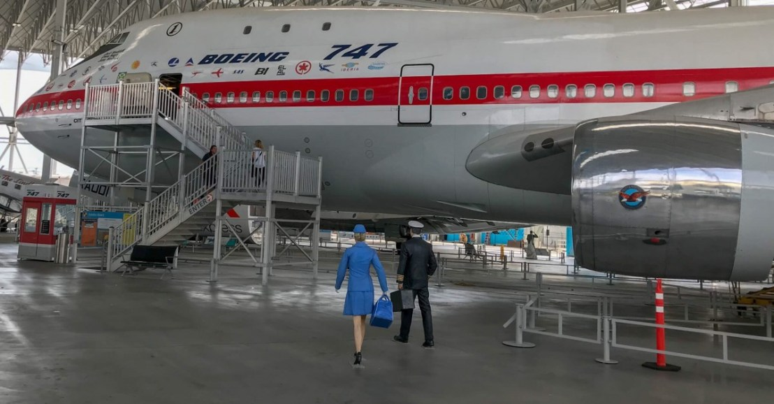 Boeing 747 Open To Visitors