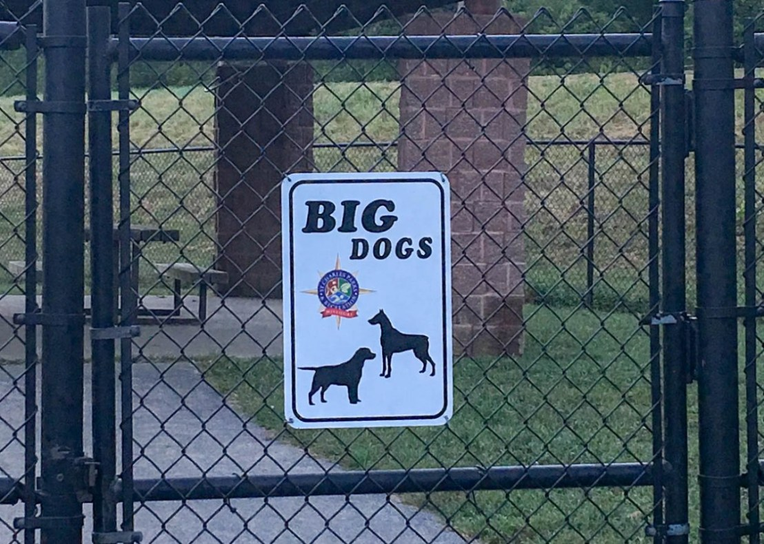 DuSable Park Ed Bales Area Big Dog Park
