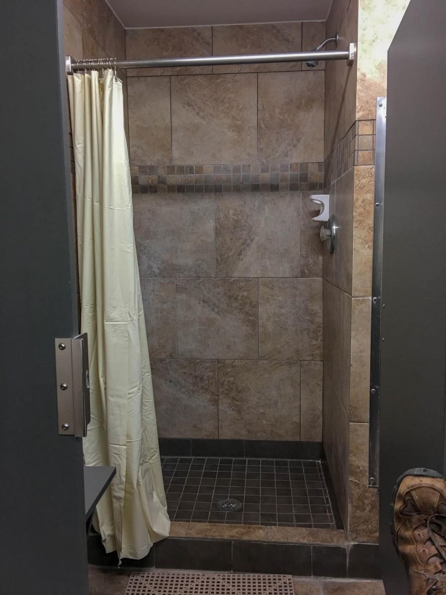 San Antonio KOA Bathhouse Shower Stall