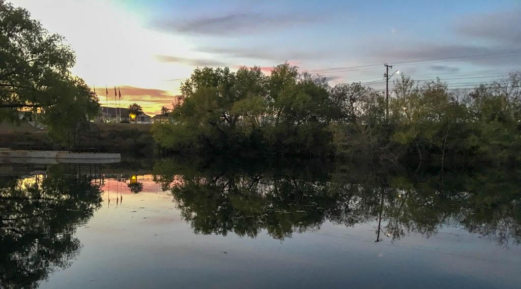 Sun Sets Over The San Antonio KOA Office