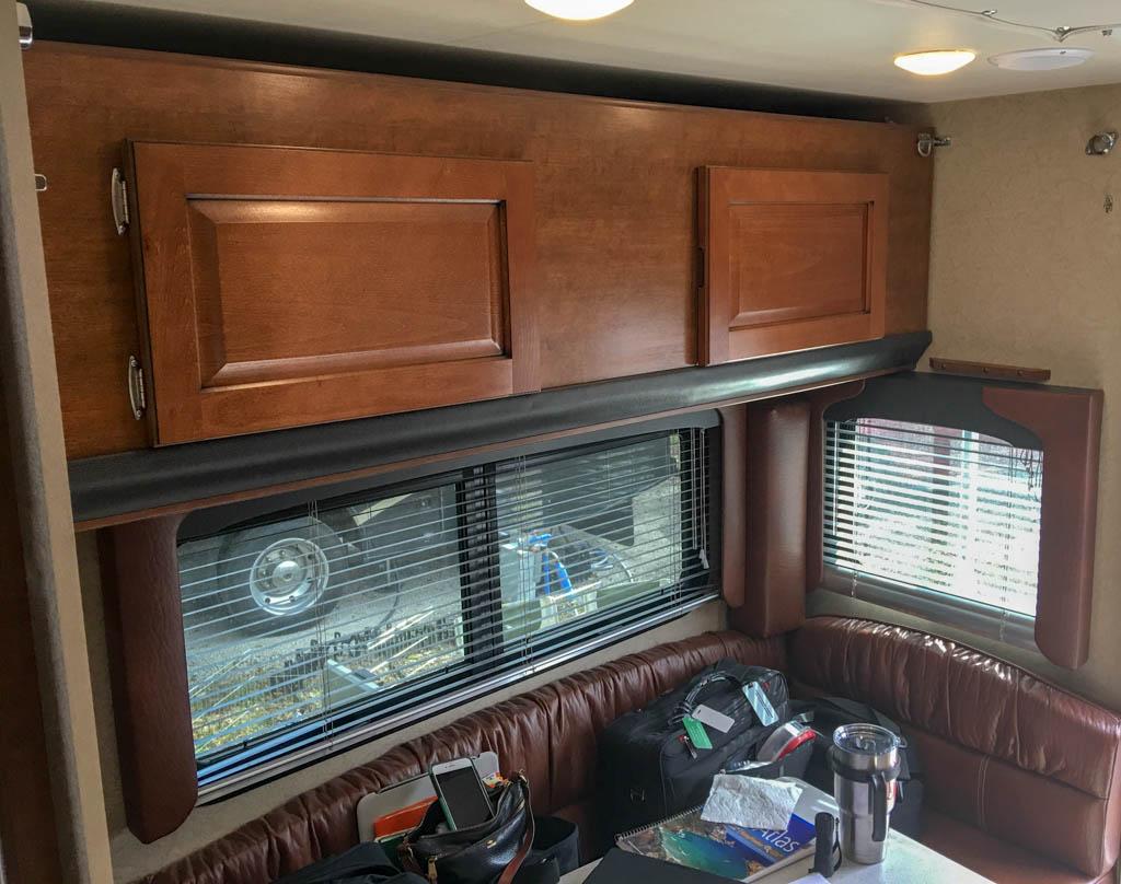 Fold Down Bunk/Cabinet - Cabinet Configuration