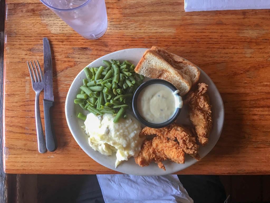 Good Time Charlie's Chicken Fingers Dinner