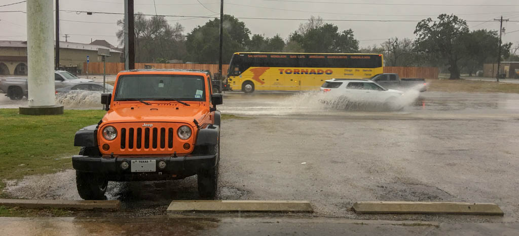 Heavy Rains Lead To Local Flooding