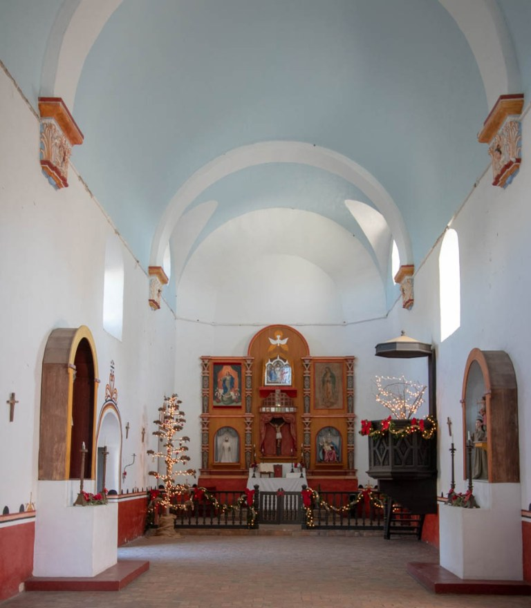 Mission Espiritu Santo Looking Toward The Altar