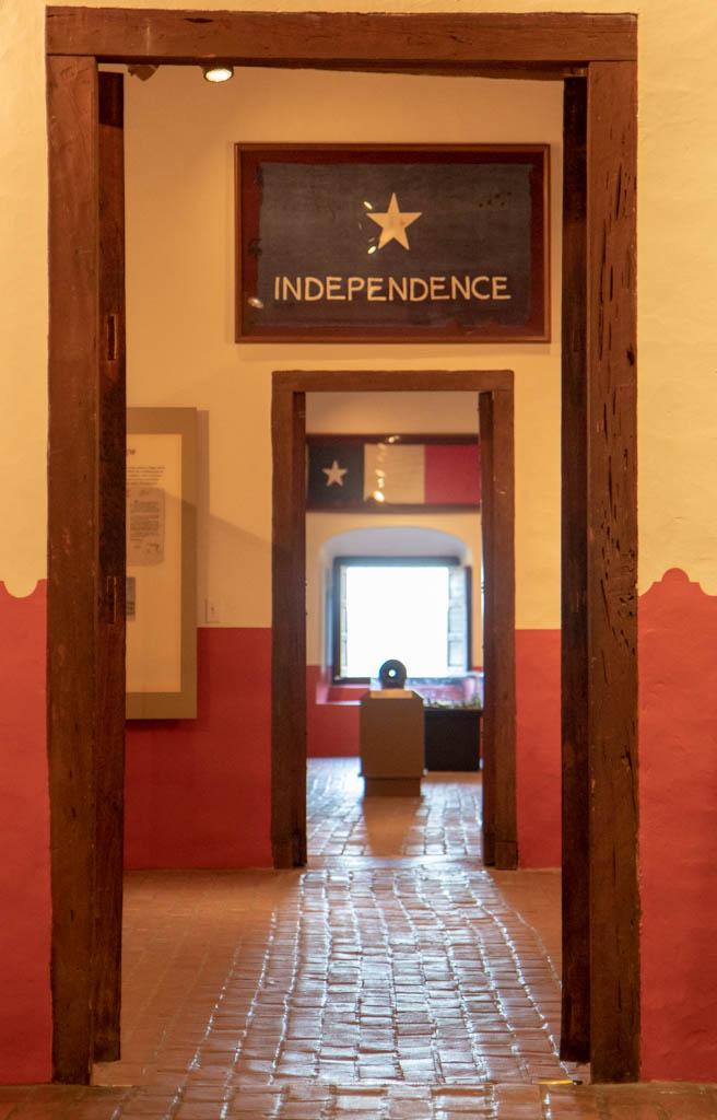 Presidio La Bahia Museum Hallway