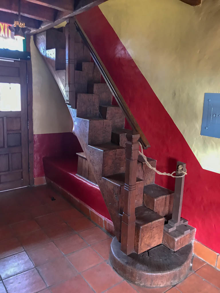 Two Log Staircase With Alternating Steps