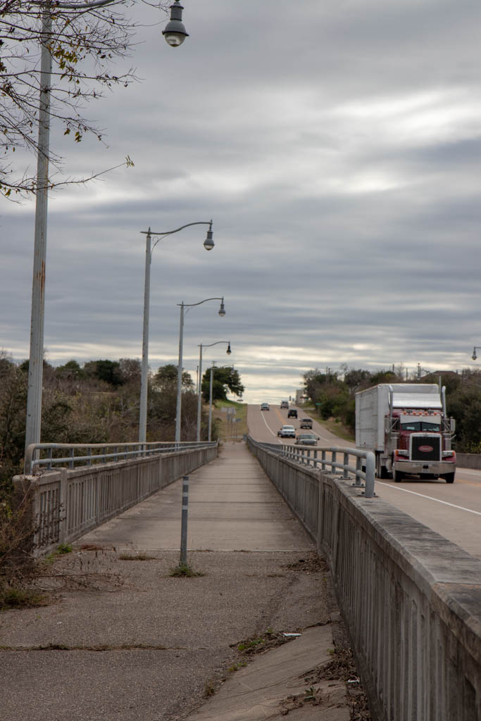 Trail Section on US-183 San Antonio River Bridge