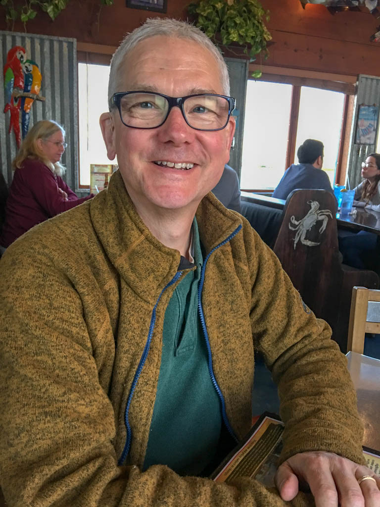 Larry Ready For Lunch At Pier 19