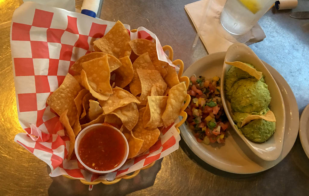 House Special Chips and Guacamole