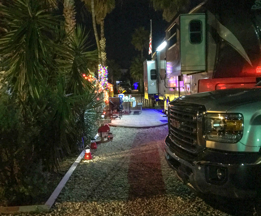Fiver Light Alley @ South Padre Island KOA