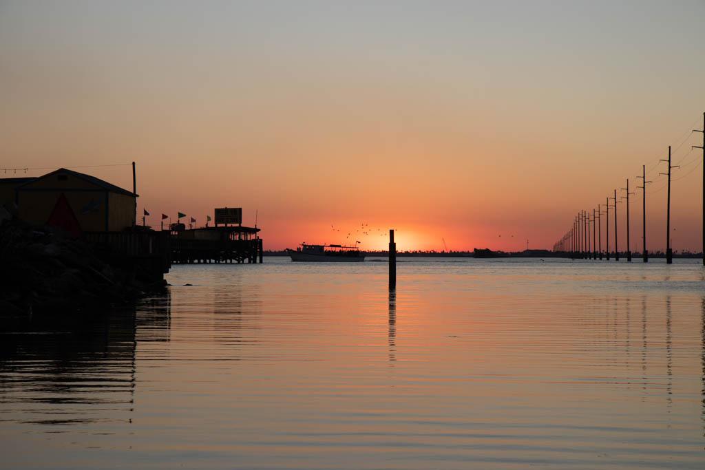 Sunset At The South Padre Island KOA