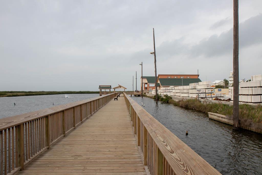 Boardwalk to New Building
