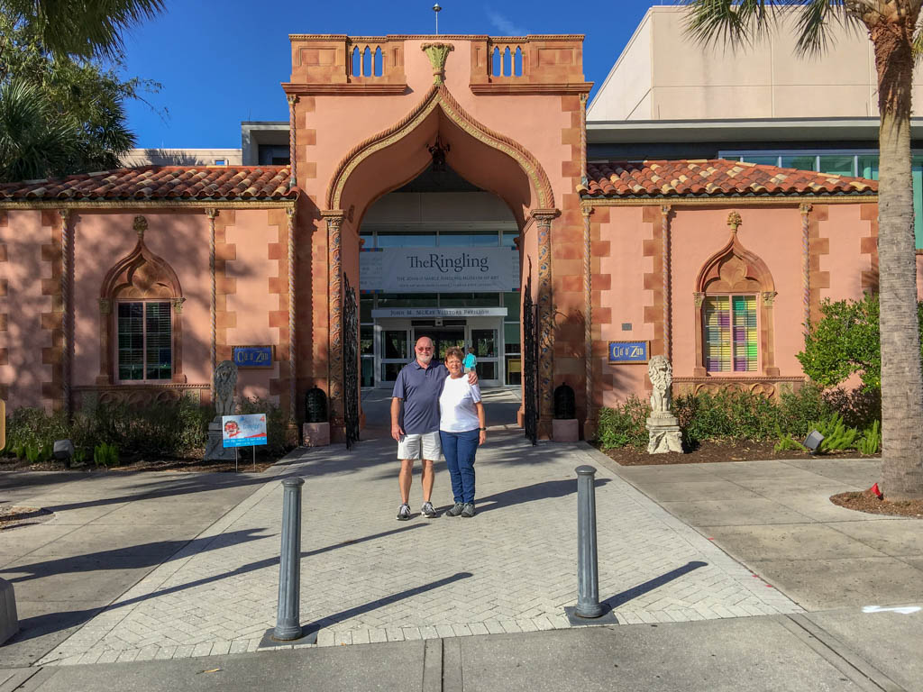 The Ringling Entrance