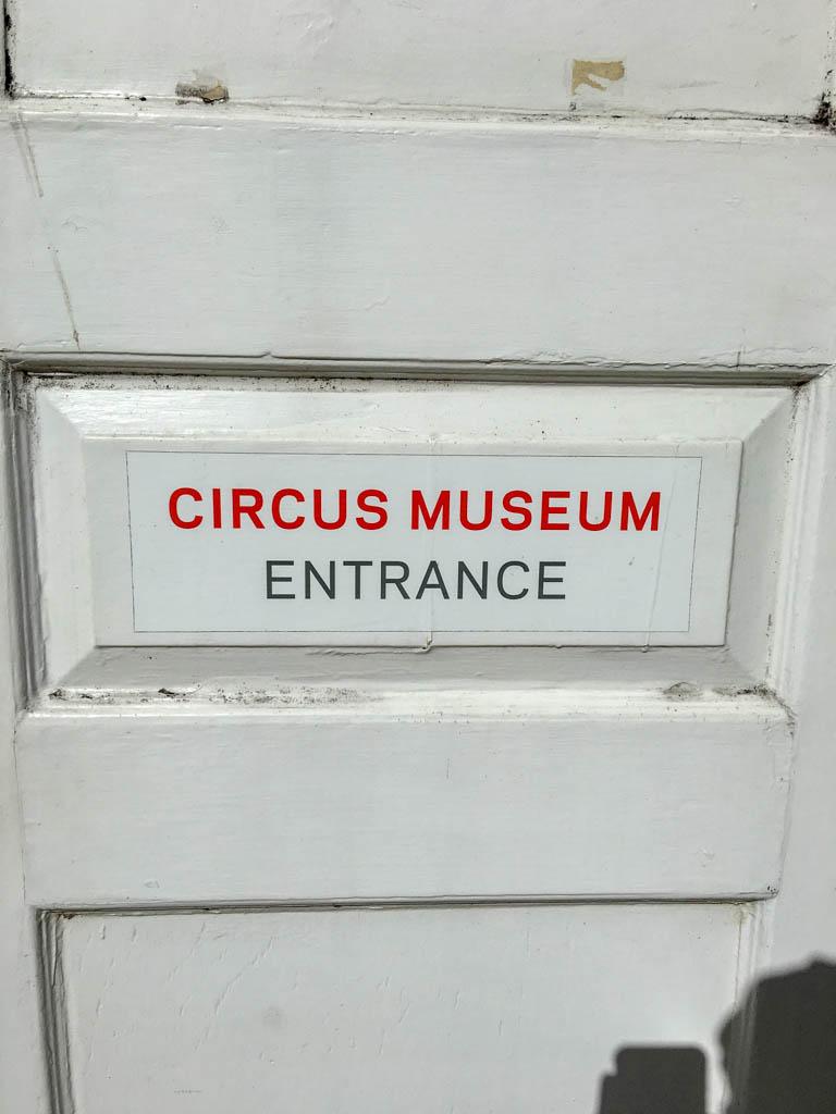 Circus Museum Entrance