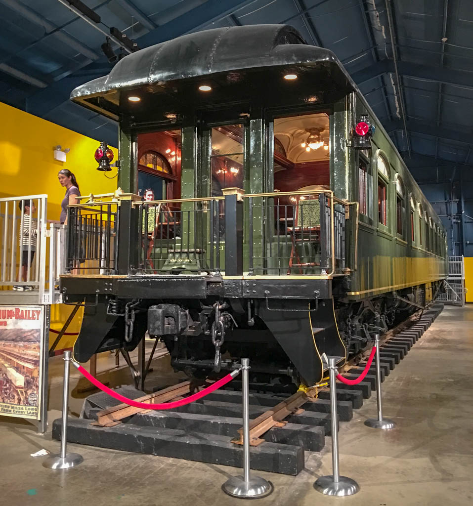 Ringling's Private Rail Car