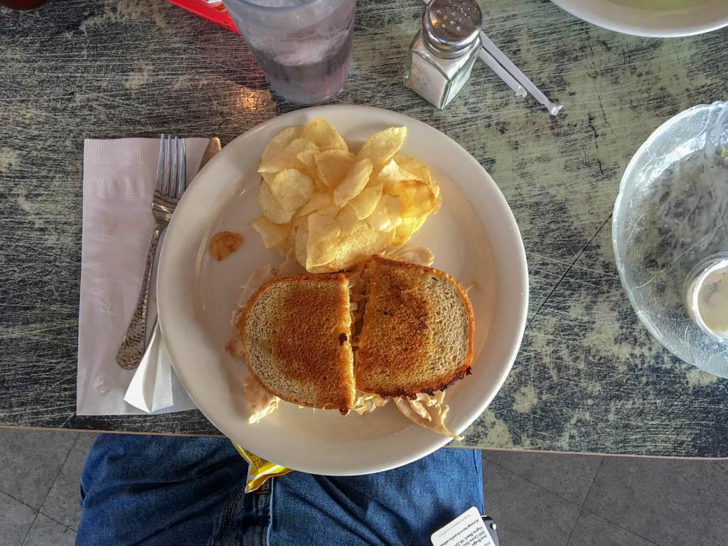 Reuben Sandwich with Turkey