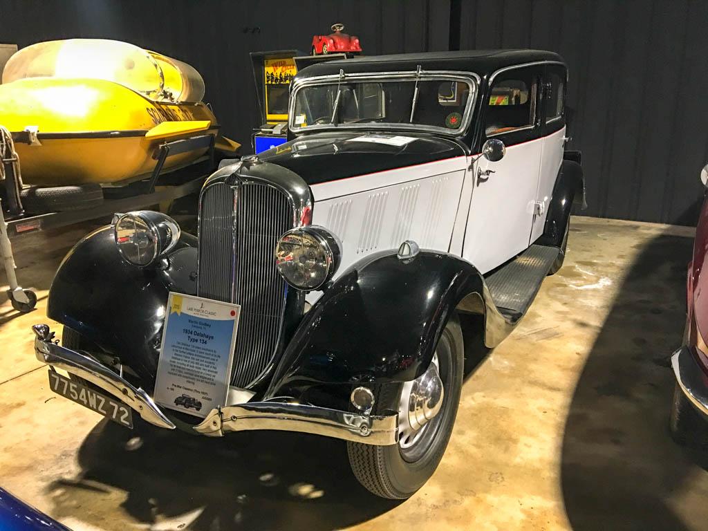 1934 Delahaye 134 Sedan