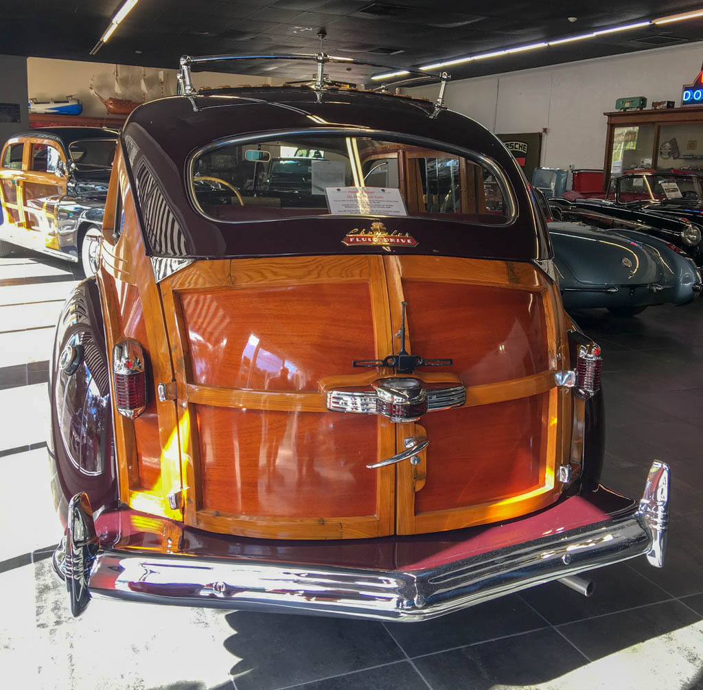 "1949 Chrysler Town and Country Station Wagon ""Barrel Back"" Trunk"