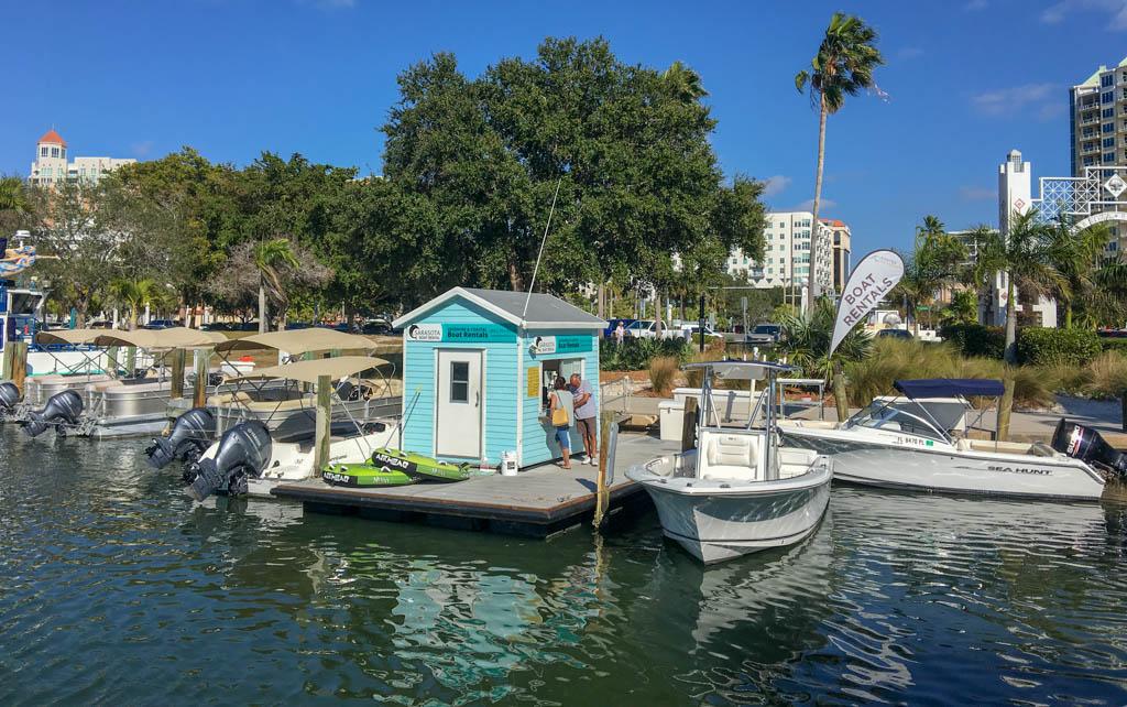 Bayfront Boat Rental Business