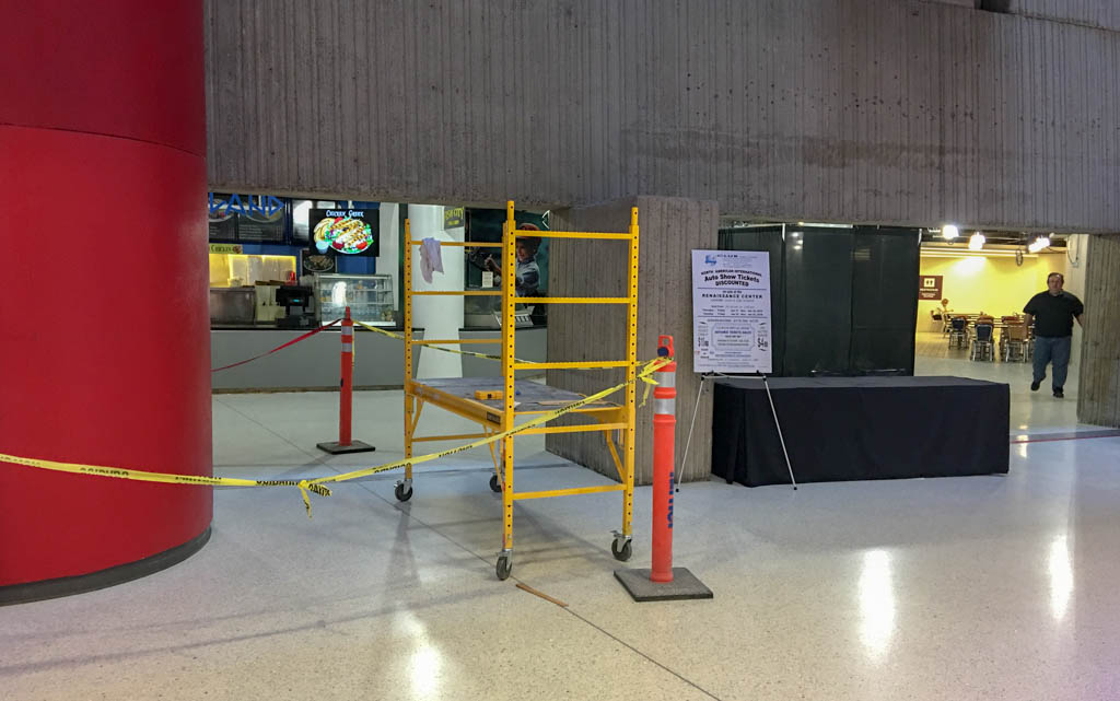 GMRENCEN Food Court Remodeling/Construction