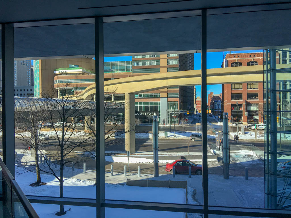 Marriott Courtyard As Seen From The GMRENCEN