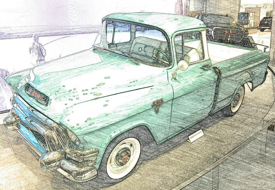 GMC Hydromatic V8 Pickup Truck